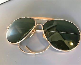 Amazing Vintage Mens Aviator Eyeglasses