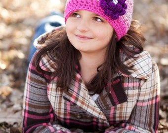 Girls Winter Hat - Fall Hair Accessories