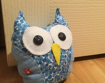Owl Doorstop - Very Cute and Handmade!