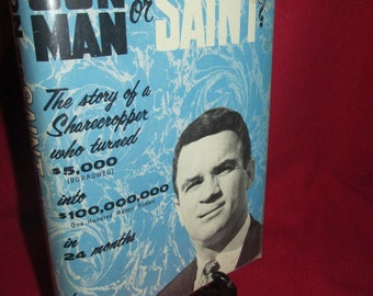 "Signed Copy of ""Con Man or Saint"" by John Frasca"