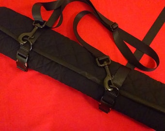 Custom Lined BDSM Paddle Roll Up Bag