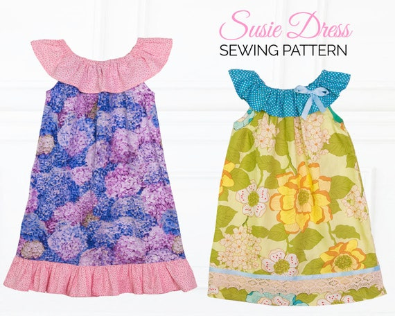 Baby dress patterns baby sewing pattern baby peasant dress