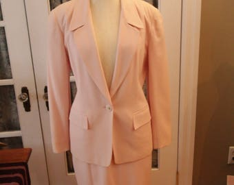 1980's Pale Pink Paul Stanley Power Suit