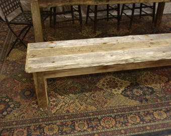 rkbg bench dining il etsy driftwood rustic market reclaimed