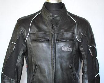 Vintage MODEKA LEATHER JACKET , speed race motorcycle jacket , men's jacket .....(154)