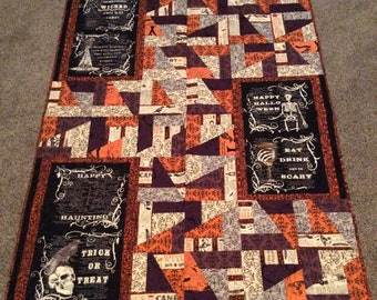 Something Wicked Halloween quilt