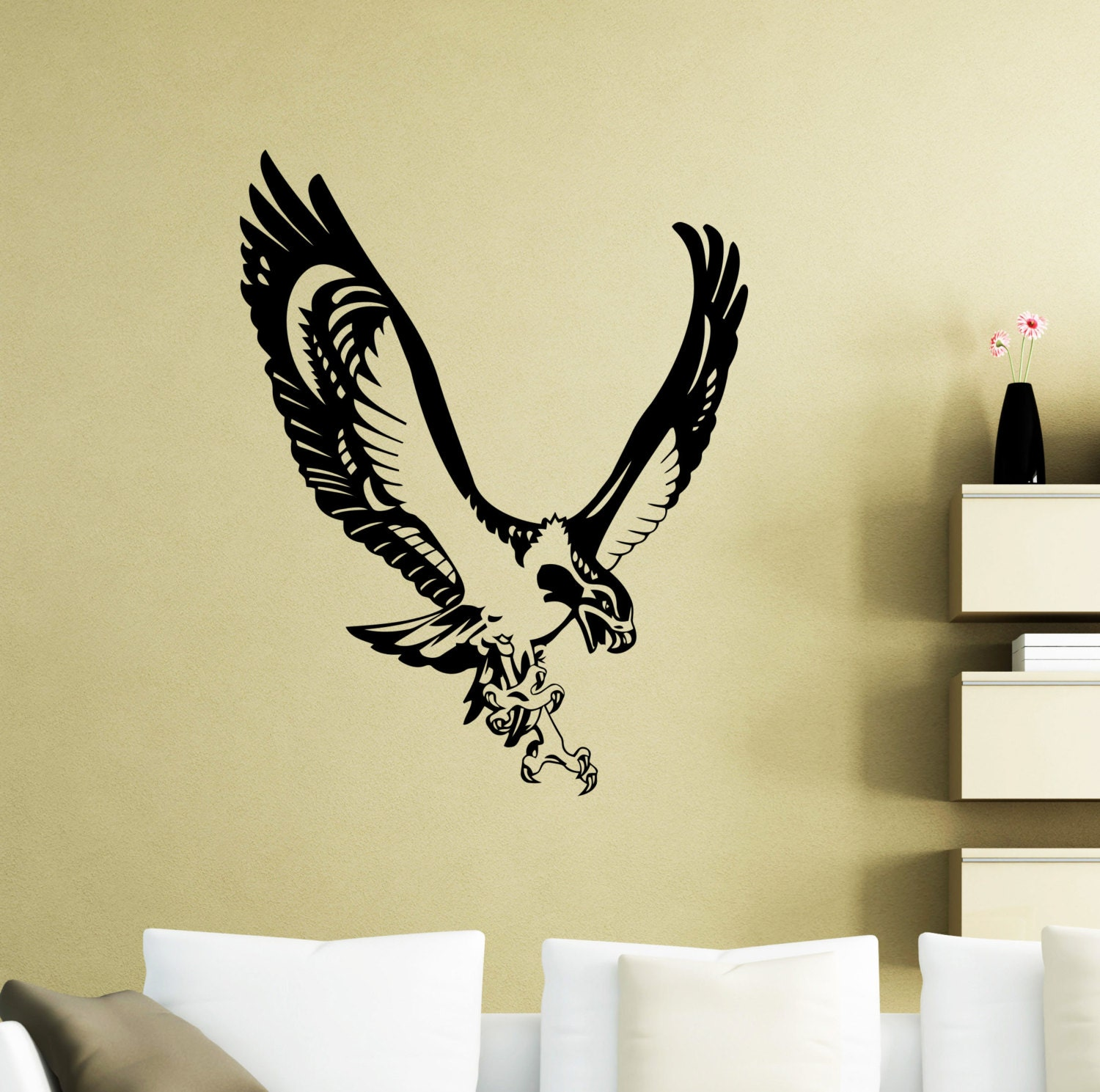 Seahawk Wall Sticker Sea Hawk Fish Eagle Osprey Bird Animals