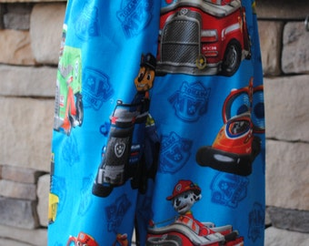 Paw Patrol Boys or Girls Print Lounge Bottoms. Birthday Party Gift. 12mo, 18mo, 2t, 3t, 4t, 5t, 6, 7, 8