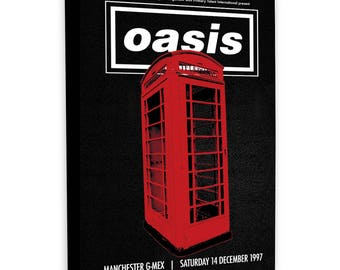 Oasis - Concert Poster - Gmex Manchester 1997