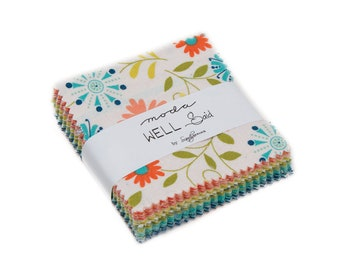 Moda Well Said Mini Charm Pack by Sandy Gervais