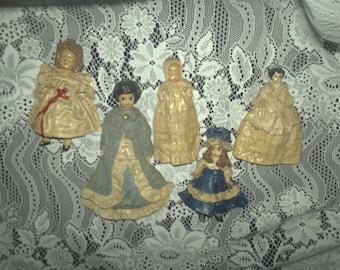 Handmade Miniature Doll Ornaments