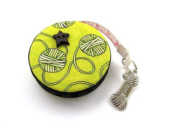 Measuring Tape For Yarn Lovers  Retractable Tape Measure