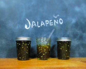 Hello Jalapeno - Organic Jalapeno Jam - Hot Pepper Jam