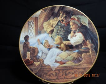 Goldilocks and the Three Bears - Knowles Collectors Plate