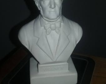 Small Rubber/Plastic Bust of Richard Wagner