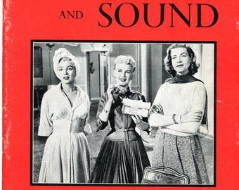 Sight and Sound Magazine  1954  Marilyn Monroe  Betty Grable & Lauren Bacall on Cover  Charlie Chaplin  Desi Arnaz Lucille Ball Cyd Charisse