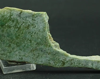Jade slab, Wyoming  - Lapidary Mineral Specimen for Sale