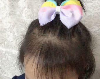 """1pc 3.5"""" girl baby Toddler Girl baby Hair Bows Hair Alligator clips (mix colors)2828"""