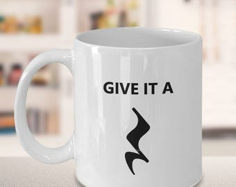 Funny Band Teacher Gift - Choir Director Gift - Orchestra Conductor Gift - Birthday Present for Music Teacher - Musical Mug - Give It a Rest