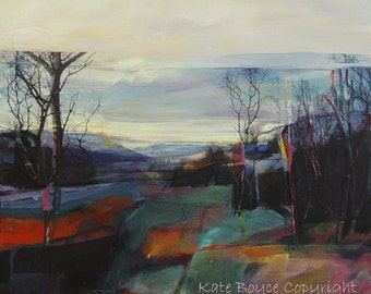 Viewpoint Above The Craggs. ( Limited Edition Print Size 2 )