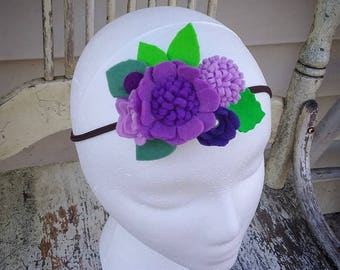 Purple Domestic Violence Awareness Headbands