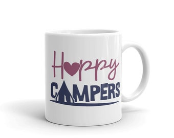 Happy Campers For Tent Campers Mug