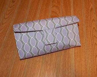 Cash Budget Wallet - Budget System - Money Envelope System - Cash Budgeting - 6 Zippered Money Envelopes - Ready to Ship