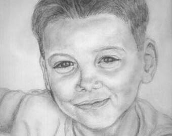 Customized portrait drawing Artwork
