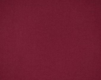 Burgundy rayon challis fabric