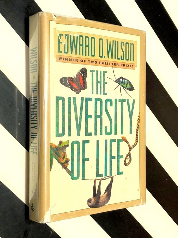 The Diversity of Life by Edward O. Wilson (1982) signed first edition book