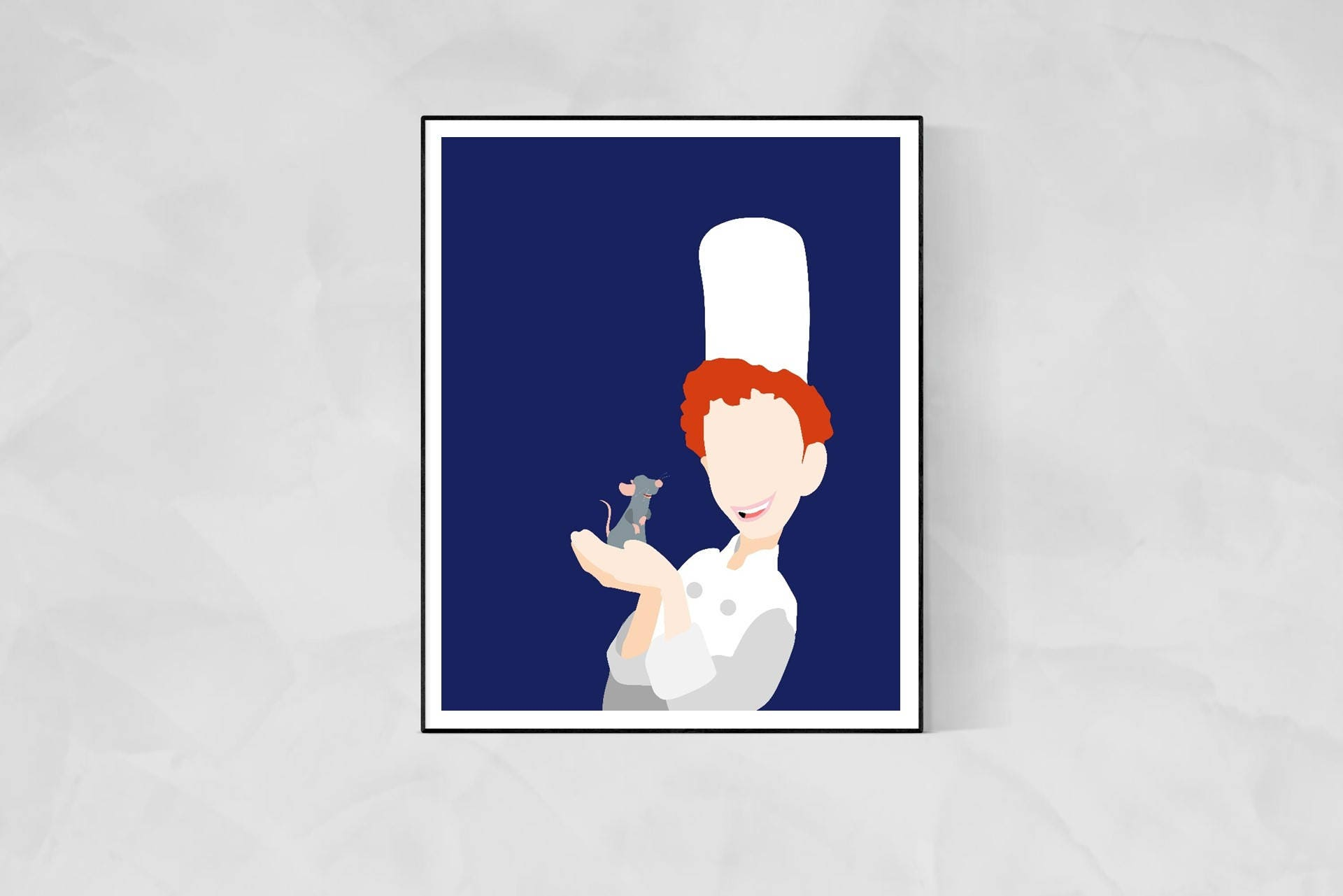 Ratatouille Minimalist Movie Poster Disney Movie Disney