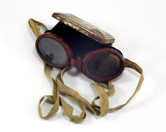 Army Goggles, Army Flying goggles, Military aviator goggles, Goggles, Army aviator glasses, WWII, , ww2 glasses, Military glasses, Army Gift