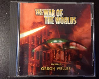 The War Of The Worlds CD - Orson Welles Radio Drama