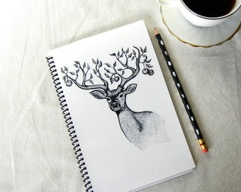 The Apple Tree Stag Notebook