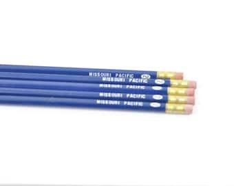 Vintage Missouri Pacific Railroad Pencils