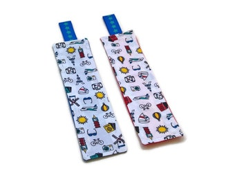 1 bookmark blue or red