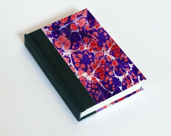 "Sketchbook 4x6"" with motifs of marbled papers - 34"
