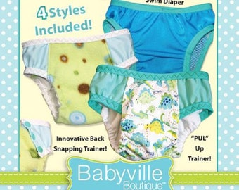 Cloth Diaper Pattern - Totally Trainers by Babyville Boutique