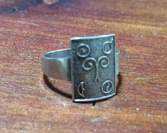 Silver Aries Ring