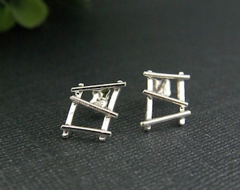 Circus Sterling Silver medium earrings