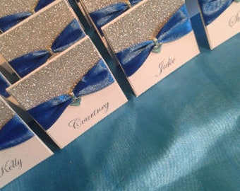Place Cards - Choice of Ribbon colour avaialble