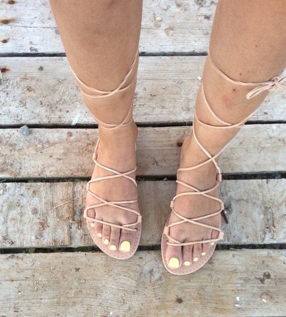 Sandals Real Sandals Gladiator Sandals Leather Handmade Sandals Flat Greek Lace Tie up Summer up sandals flats sandals Leather Women wRnqF8wpTx