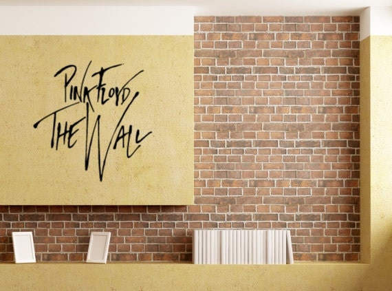 Pink Floyd The Wall Wall Decal Pink Floyd Stickers Wall