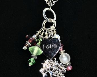 TREE OF LIFE Charm Necklace (Handcrafted)