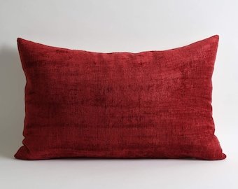 ikat velvet pillow, pillow, velvet, ikat pillow cover, velvet pillow, ikat, throw pillow, velvet ikat pillow, red velvet pillow