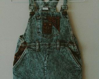 Palmettos 70's Overalls Dress