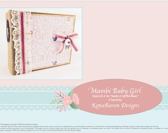 Mambi Baby Girl Mini Album TUTORIAL_REMAKE of the BUNDLE of JOY Mini Album