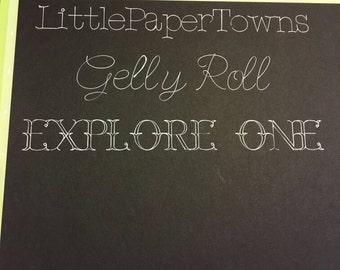 Cricut Explore One Gelly Roll & Sharpie Pen Adapter