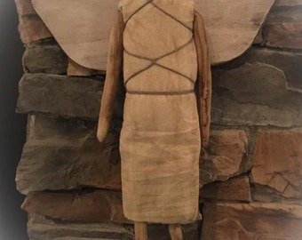 Primitive Farmhouse Holiday Christmas Angel Made to Order