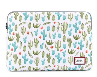 Laptop Sleeve 14 Inch, Macbook Pro 15 Sleeve, Laptop Case 15, Macbook Pro 15 Case, Macbook Pro Sleeve, Laptop Bag, Dell XPS 15, Cactus
